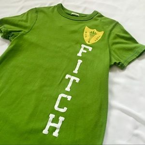 Abercrombie & Fitch Kelly Green Muscle-Fit T-Shirt